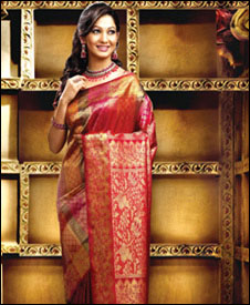 Ladies Web World-Kalyan Silks,Chayamukhi,Saugandhika Pattu,Tarom ki barat,designer silks saris,designer collections,ladies' ready-mades,modern party wear,kid's wear,men's wear,textiles,silk saree show rooms,wholesale division,South India
